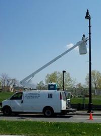 flagpole installation