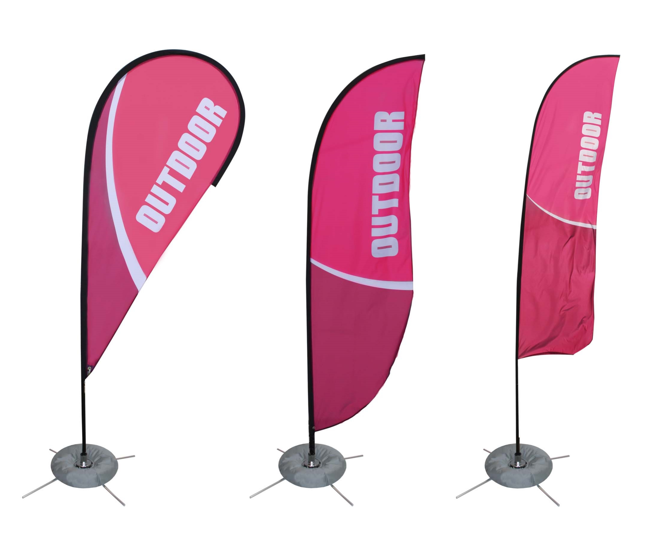 Feather banners by Accent Banner