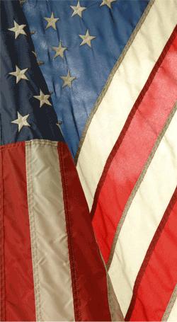 flag fading